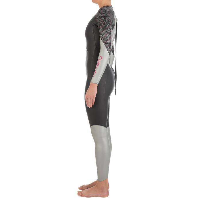Combinaison de natation néoprène nage en eau libre OWS550 4/3mm femme - 727167