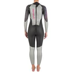 Dames zwempak OWSwim in neopreen van 4/3 mm voor koud open water - 727168