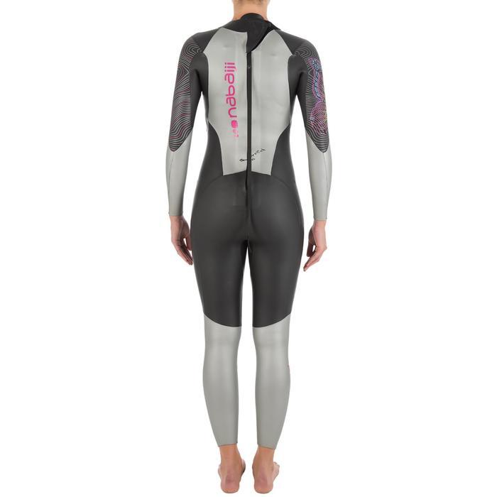 Combinaison de natation néoprène nage en eau libre OWS550 4/3mm femme - 727168