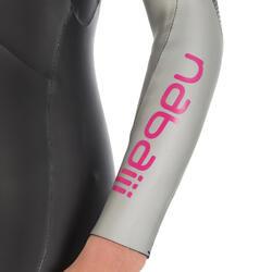 Dames zwempak OWSwim in neopreen van 4/3 mm voor koud open water - 727172