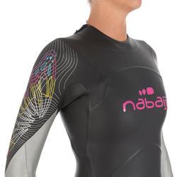 Dames zwempak OWSwim in neopreen van 4/3 mm voor koud open water - 727175