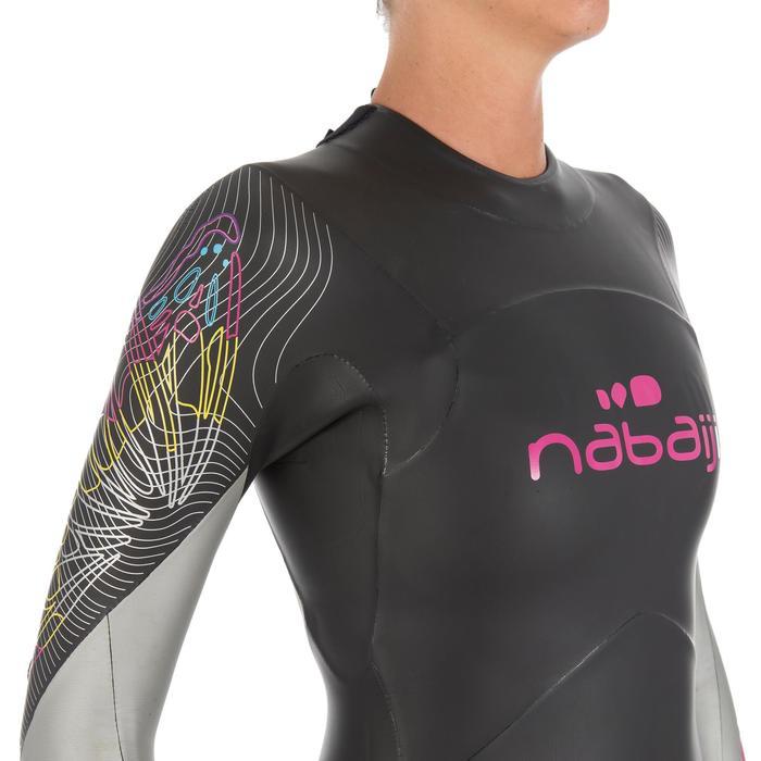 Combinaison de natation néoprène nage en eau libre OWS550 4/3mm femme - 727175