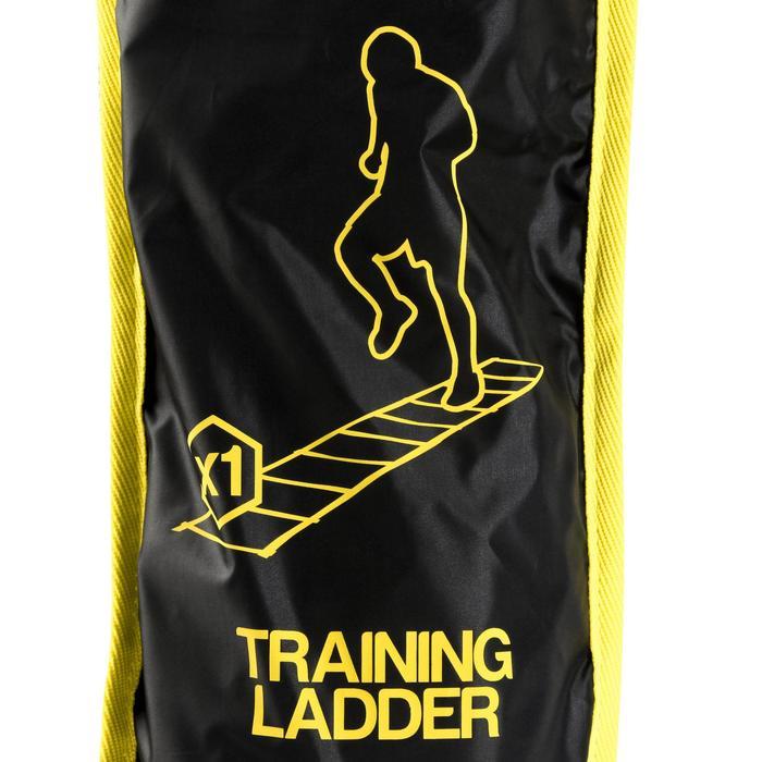 Speed ladder verstelbaar 4 meter geel