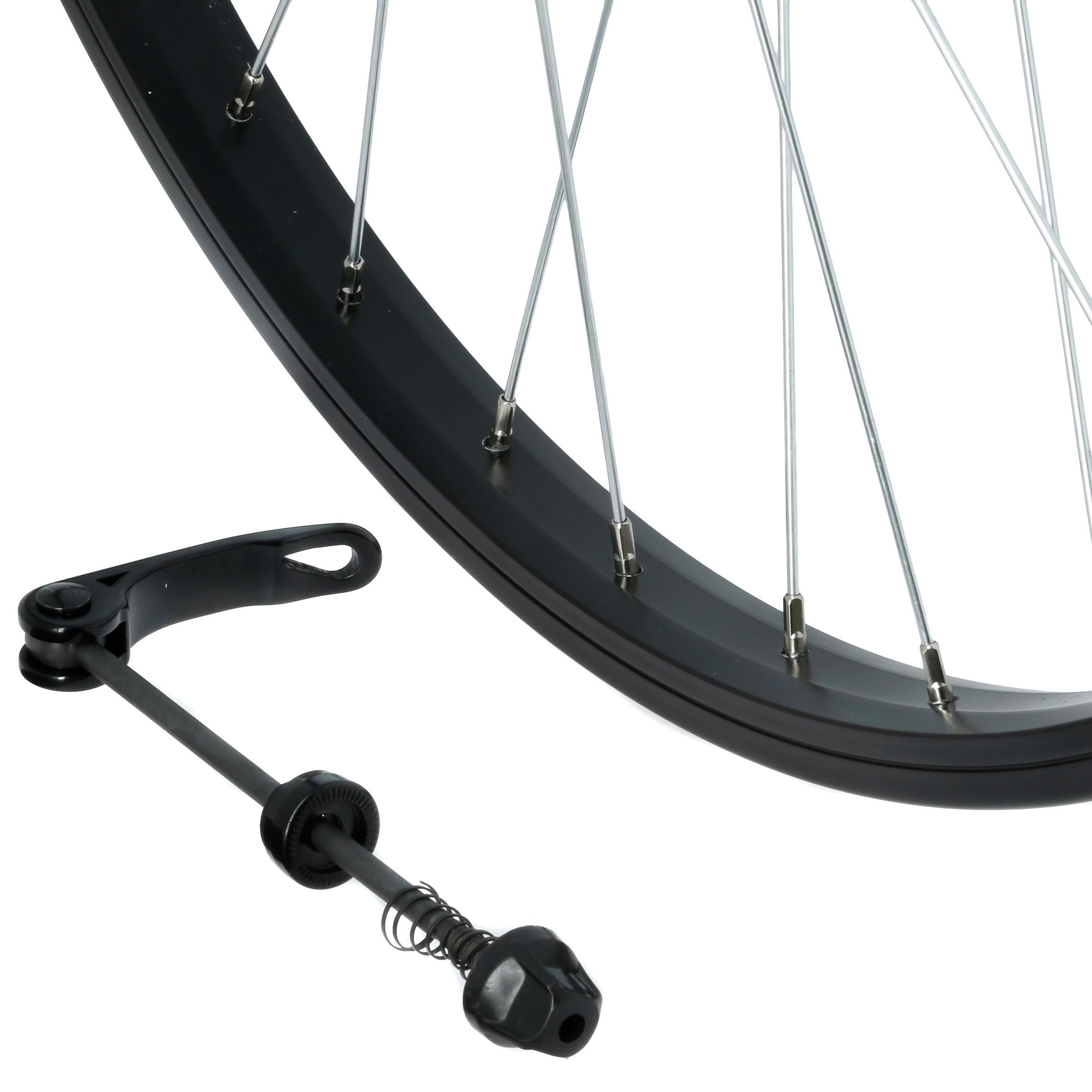 26_QUOTE_ MTB Front Wheel - Black