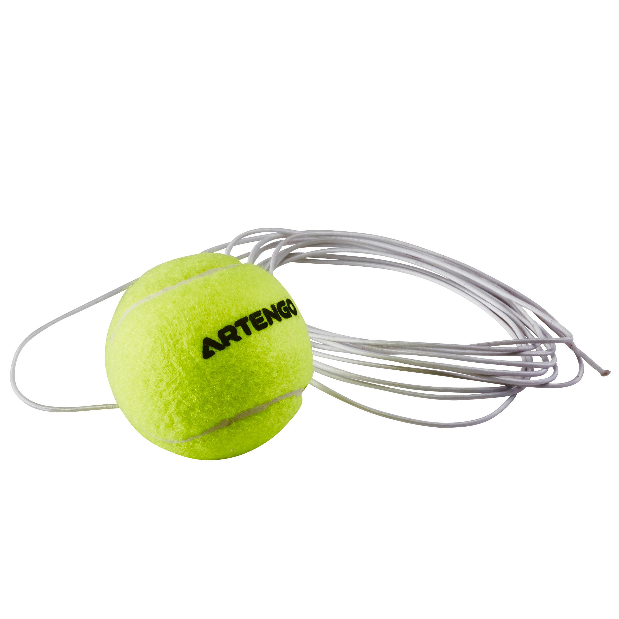 Balle de tennis et élastique pour Tennis trainer « Ball is Back »