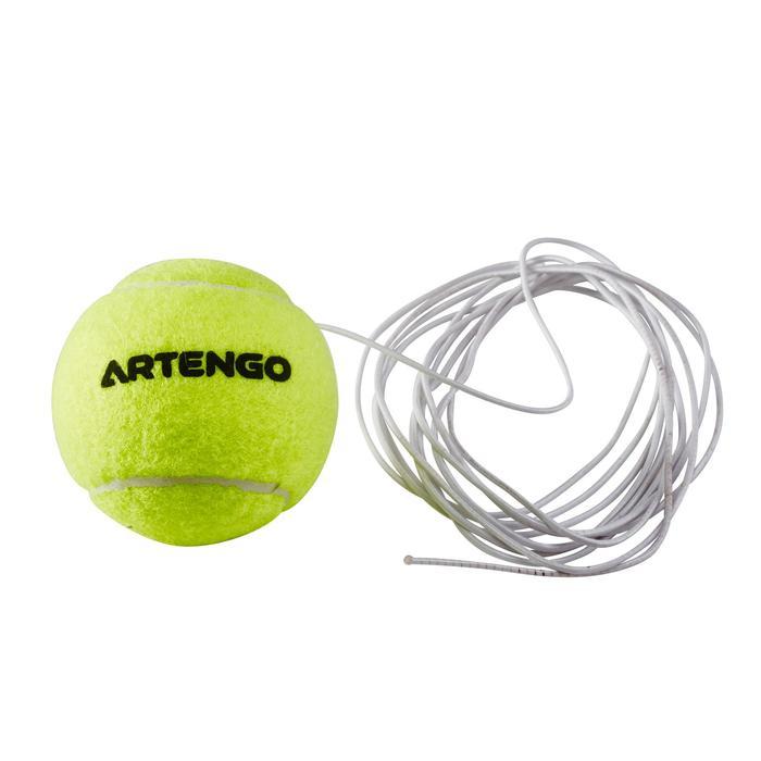 """""""回彈""""網球練習器(球和彈力繩)"""