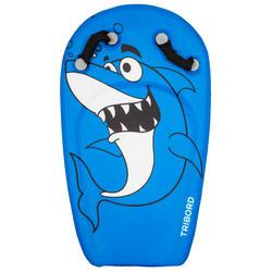 Bodyboard BODYATU niños de 4 a 8 años tiburón azul asas