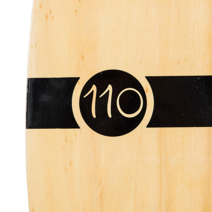 Skimboard en bois 500 pour adultes de moins de 80 kg. - 728045
