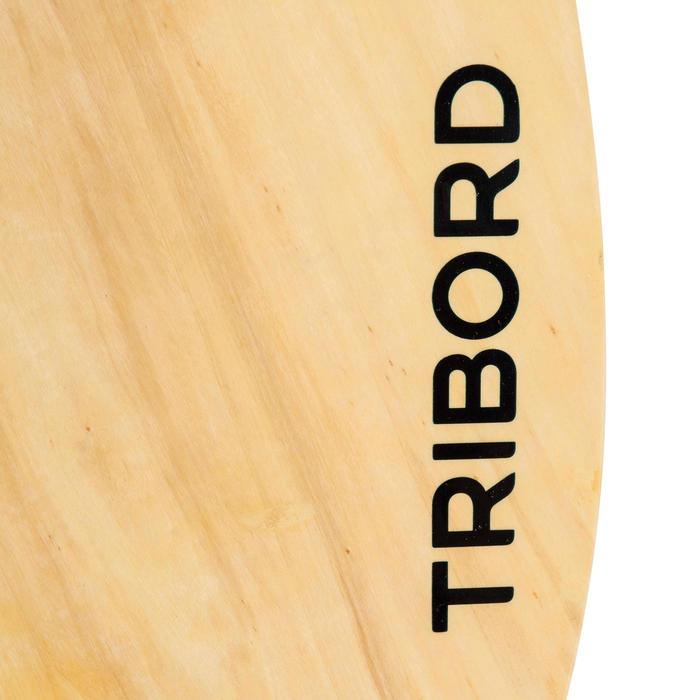 Skimboard en bois 500 pour adultes de moins de 80 kg. - 728046
