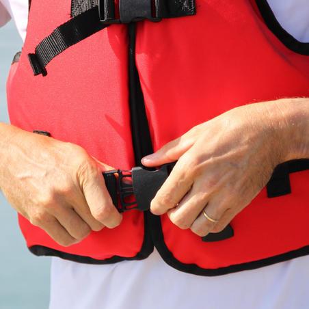 BA100 70 N club buoyancy vest for use on a dinghy, catamaran or kayak