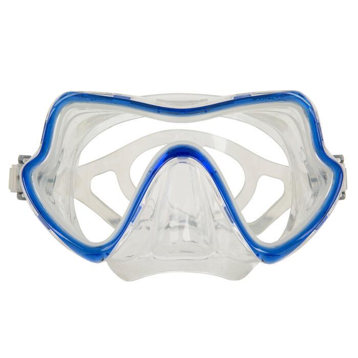 Kit de submarinismo (aletas, máscara y tubo) Avanti Super Channel azul