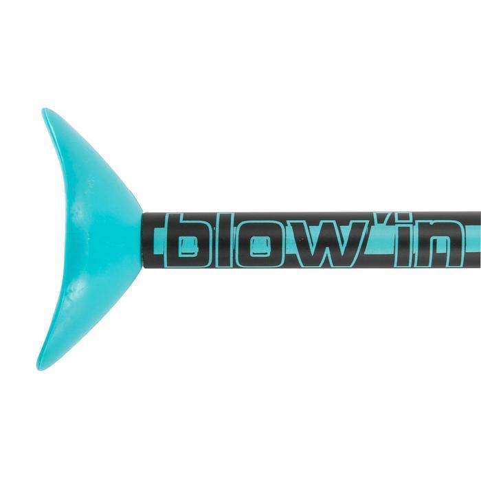 Blow'in blauw
