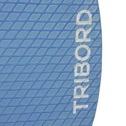 Houten skimboard 500 voor kinderen, antislip pad, blauw. - 728156