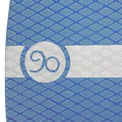 Houten skimboard 500 voor kinderen, antislip pad, blauw. - 728157