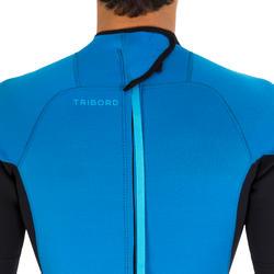 Heren surfpak 100 neopreen 2/2 mm blauw - 7287