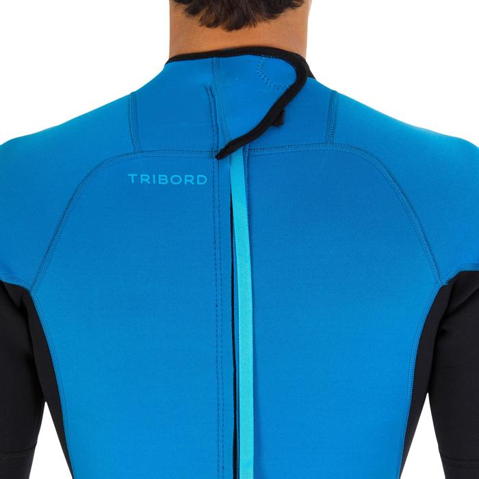 100 Men's 2/2 mm Neoprene Surfing Wetsuit - Blue