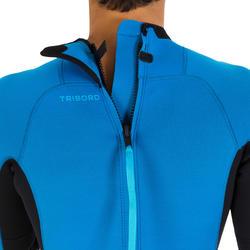 Heren surfpak 100 neopreen 2/2 mm blauw - 7288