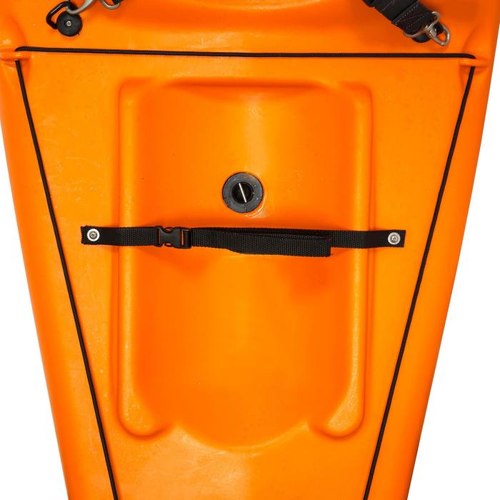 CANOE KAYAK RIGIDE RK500-1 PLACE RANDONNÉE Orange - 729994