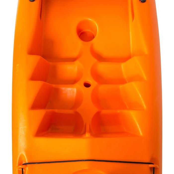 Stijve toerkajak RK500-1 persoon oranje