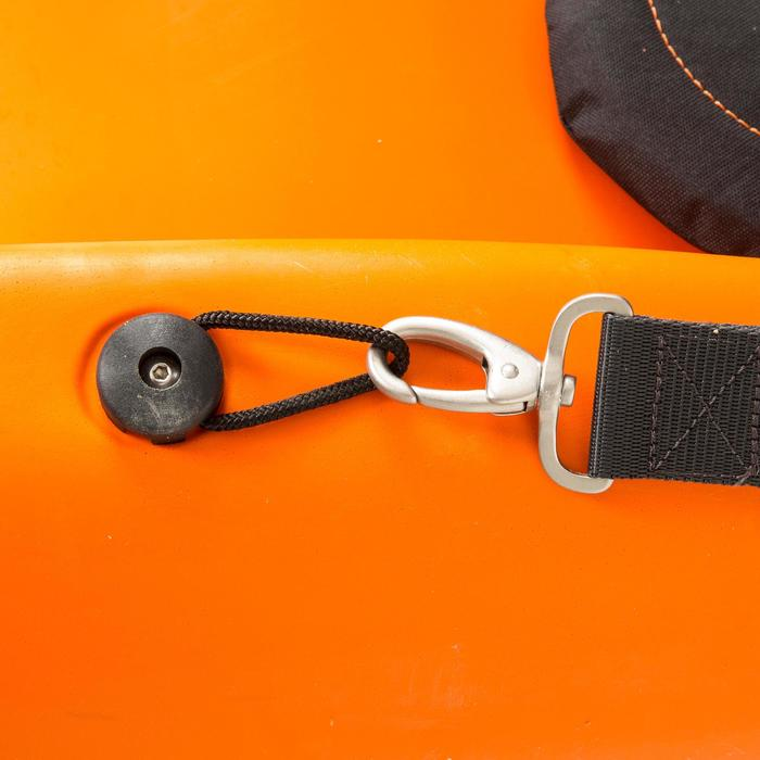 CANOE KAYAK RIGIDE RK500-1 PLACE RANDONNÉE Orange - 730012