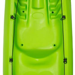 Toerkajak RK500-2 groen, 2 volwassenen en 1 kind - 730014