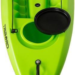 Toerkajak RK500-2 groen, 2 volwassenen en 1 kind - 730020