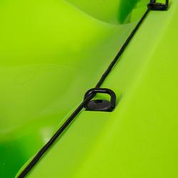 Toerkajak RK500-2 groen, 2 volwassenen en 1 kind - 730025