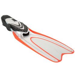 Zwemvliezen 540 voor snorkelen en diepzeeduiken, volwassenen, transp. - 730118