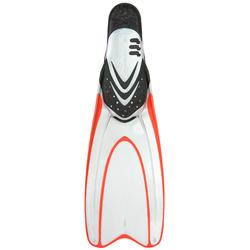 Zwemvliezen 540 voor snorkelen en diepzeeduiken, volwassenen, transp. - 730119
