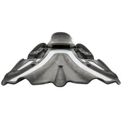 Aletas de buceo Volo Race negro y gris claro