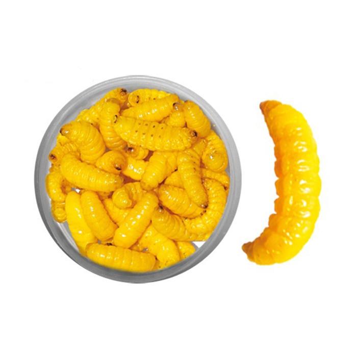 Aas voor forelvissen in vijvers gemummificeerde gele mottenlarven
