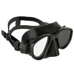 Duikbril voor harpoenvissen en vrijduiken Alien zwart