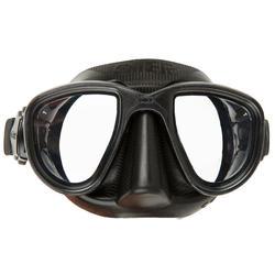 Duikbril Alien voor harpoenvissen en vrijduiken, zwart - 730364