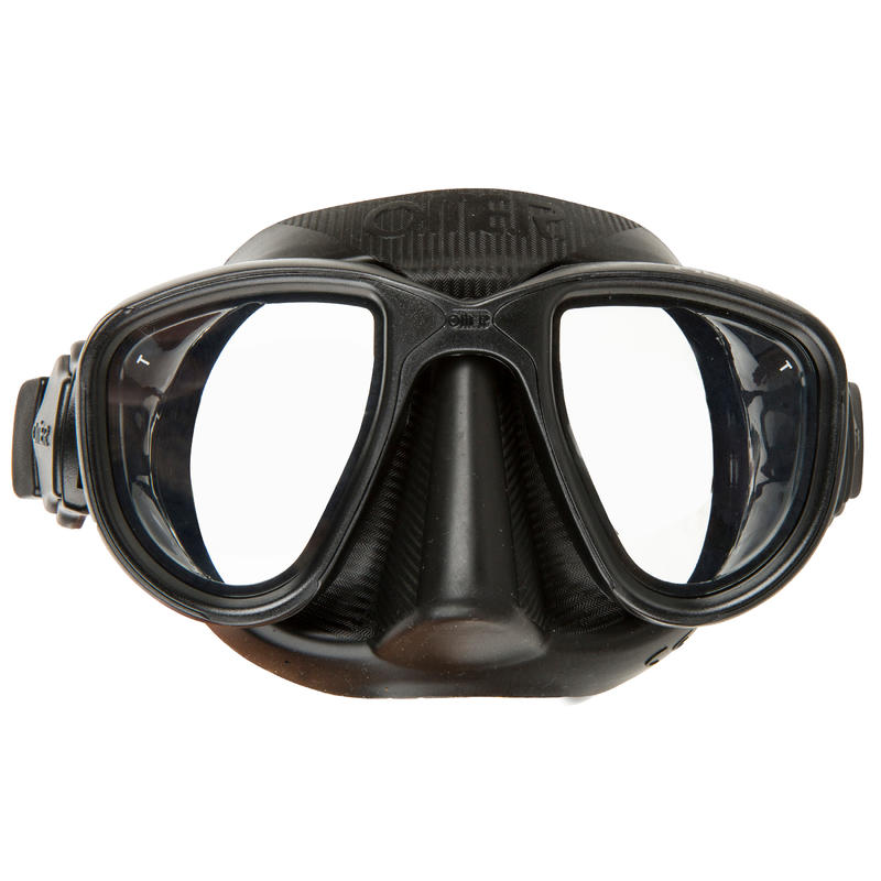 Freediving Spearfishing Mask Alien - Black