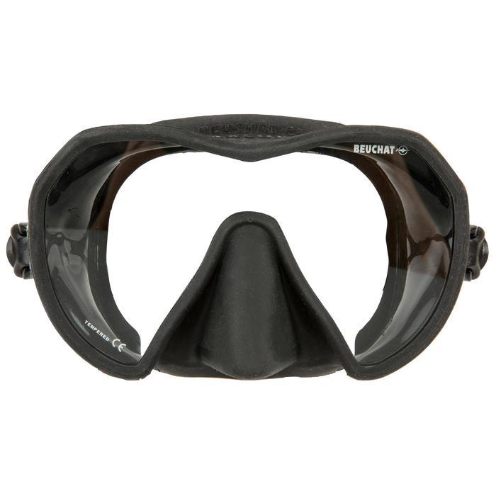 Duikbril Maxilux S zwart voor freediving