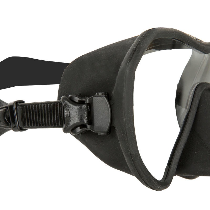 Freediving Spearfishing Mask Maxlux S - Black