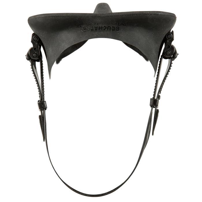 Duikbril Maxlux S voor harpoenvissen en vrijduiken zwart