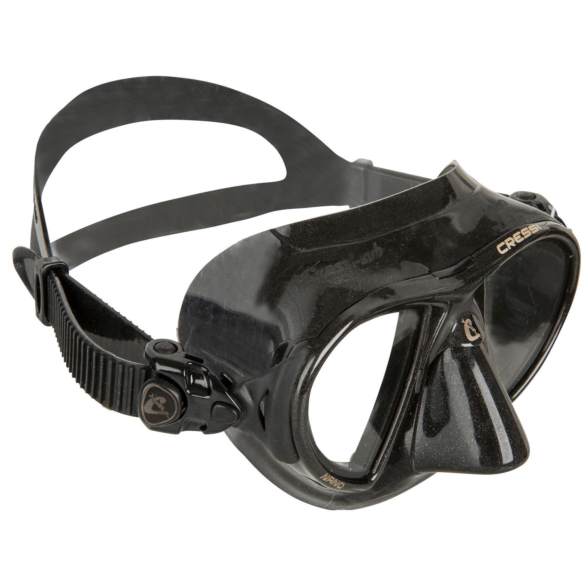 Cressi-sub Duikbril Nano Black en freediving kopen? Leest dit eerst: Duikmasker en snorkel Duikmasker met korting