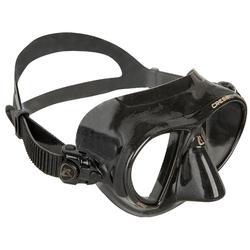 Masque de chasse sous-marine et d'apnée Nano Black
