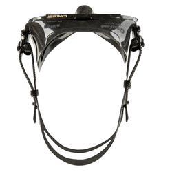 Duikbril Nano Black voor harpoenvissen en vrijduiken