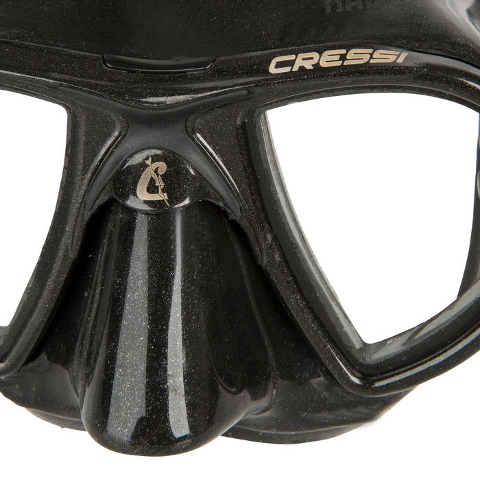 Gafas Apnea Pesca Submarina Cressi Nano Adulto Negro