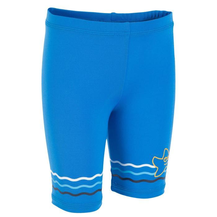 CONJUNTO anti-UV 3 piezas Bebé Surf Azul