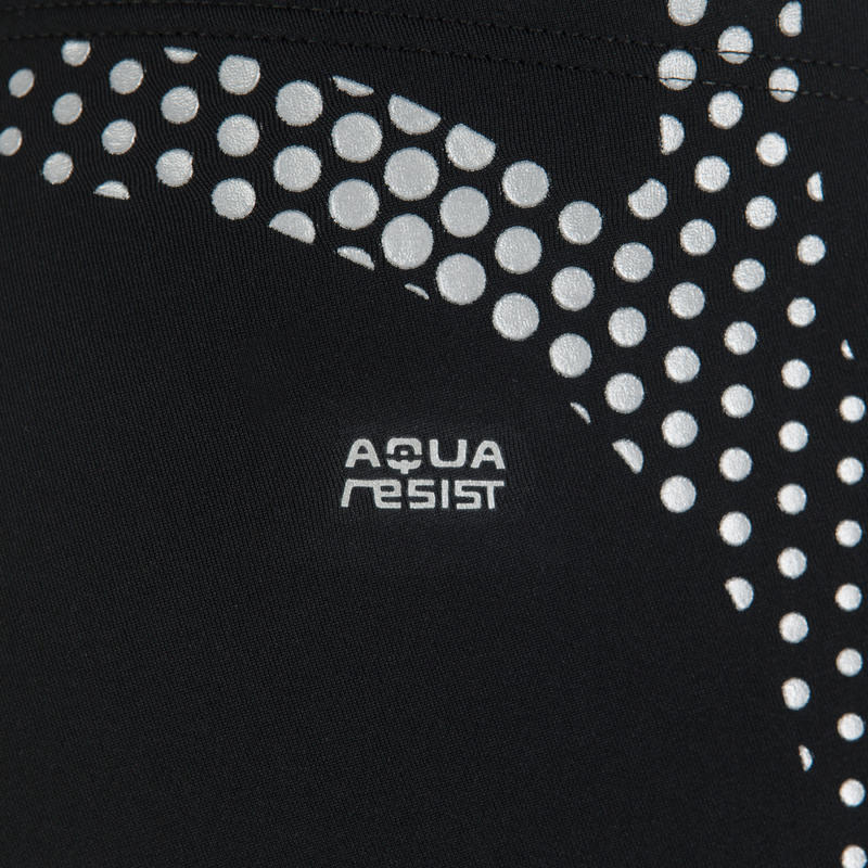 B-Ready trbel men's swim shorts - black silver