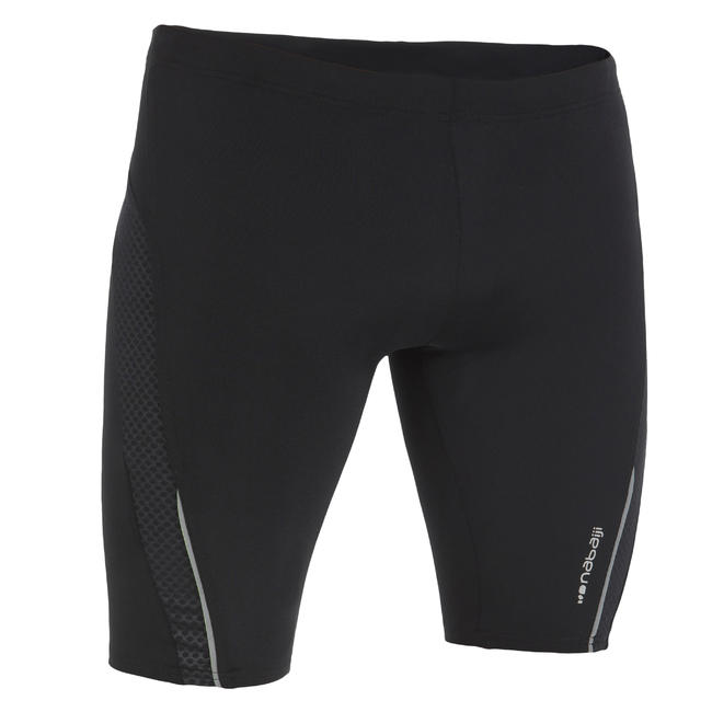 900 FIRST MEN'S JAMMER SWIM SHORTS - BLACK DOT