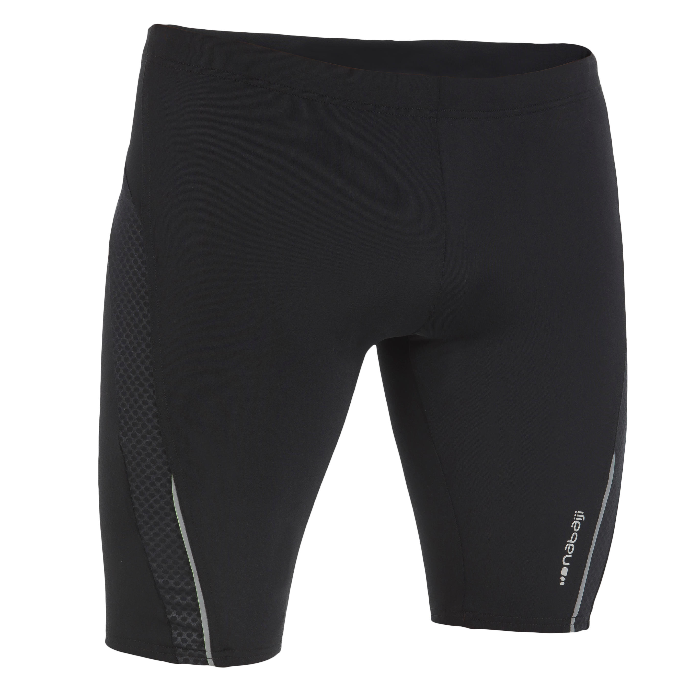 B-First Men's Jammer Swim Shorts - Black Dot
