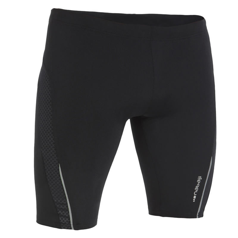 MEN'S SWIMMING JAMMER FIT - BLACK DOT