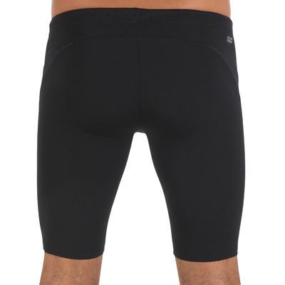מכנסי שחייה קצרים לגברים 900 FIRST JAMMER - שחור נקודות