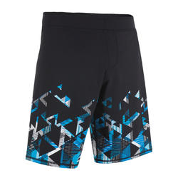 MEN'S SWIMSHORT 190 LONG STRIL BLUE