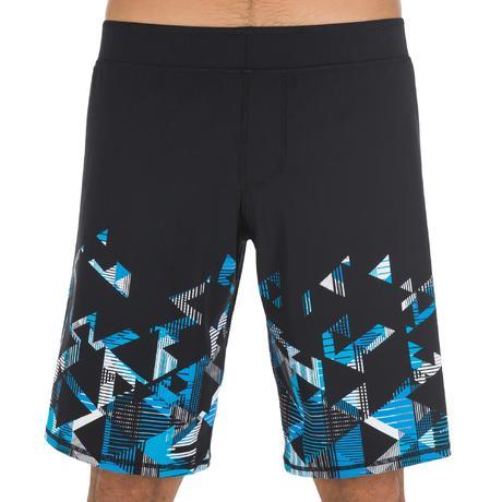 maillot de bain homme short b free long stril bleu nabaiji. Black Bedroom Furniture Sets. Home Design Ideas
