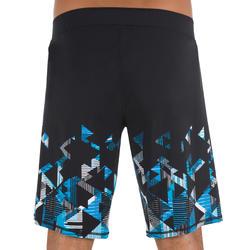swimshort 100 long black stril blue **